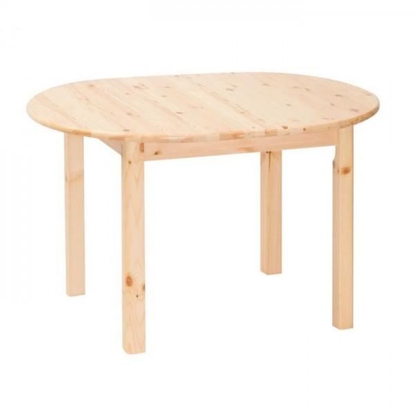 Kihúzható ovális asztal