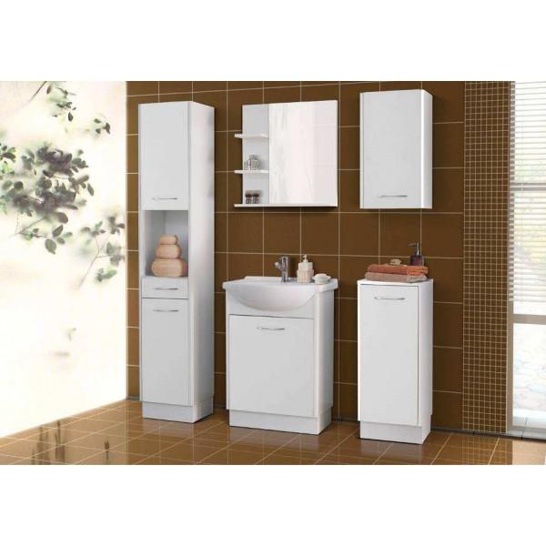 Narina fürdőszoba bútor - fehér/fehér