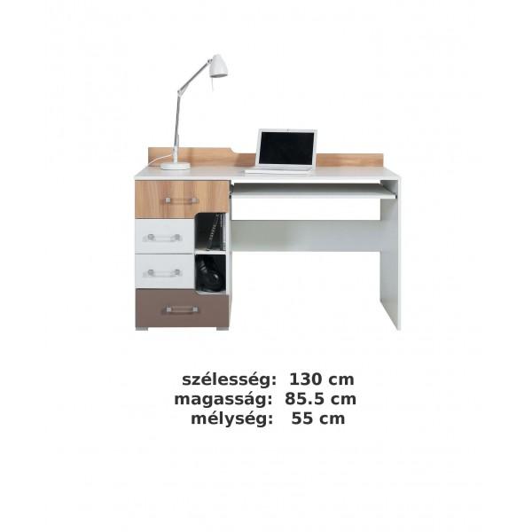 Bodor SYSTEM ELEM - Bd13 íróasztal