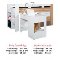Bodor SYSTEM ELEM - Bd19 beépített ágy