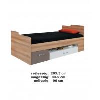 Bodor SYSTEM ELEM - Bd20 fiókos ágy