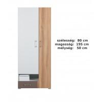Bodor SYSTEM  ELEM - Bd3 akasztós szekrény