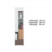 Bodor SYSTEM  ELEM - Bd8 polcos szekrény