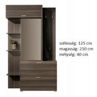 Mozzo 1 - modern tükrös előszoba