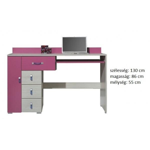 Kami KM13 - pc asztal, számítógép asztal RAKTÁRON