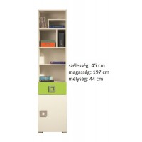 Lavina LA6 - polcos+fiókos szekrény
