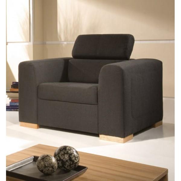 Lona fotel - állítható fejtámlás
