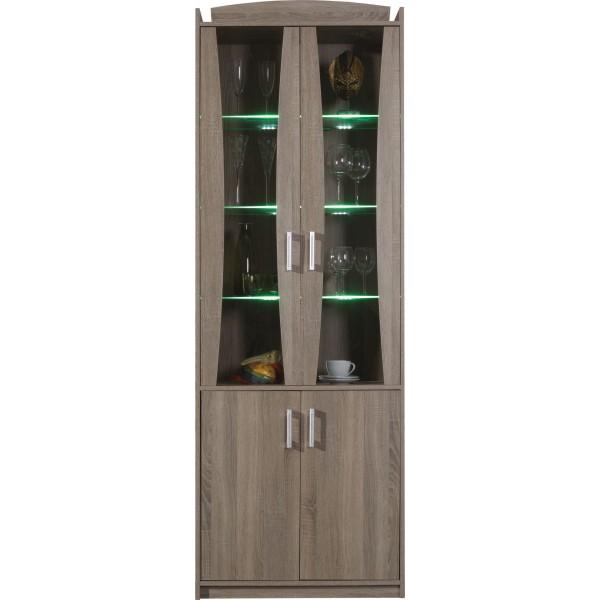 Meggie ME1 - vitrines szekrény