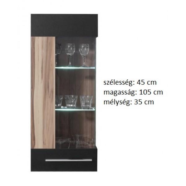 Morella MR11 - vitrines fali szekrény - univerzális