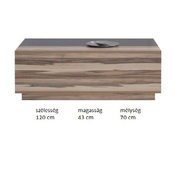 Morella MR14 - dohányzó asztal