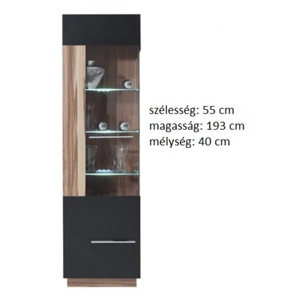 Morella MR2L - vitrines szekrény