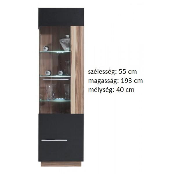 Morella MR2p - vitrines szekrény