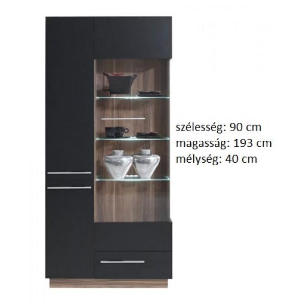 Morella MR3 - vitrines szekrény