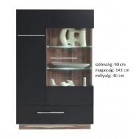 Morella MR4 - vitrines szekrény RAKTÁRON