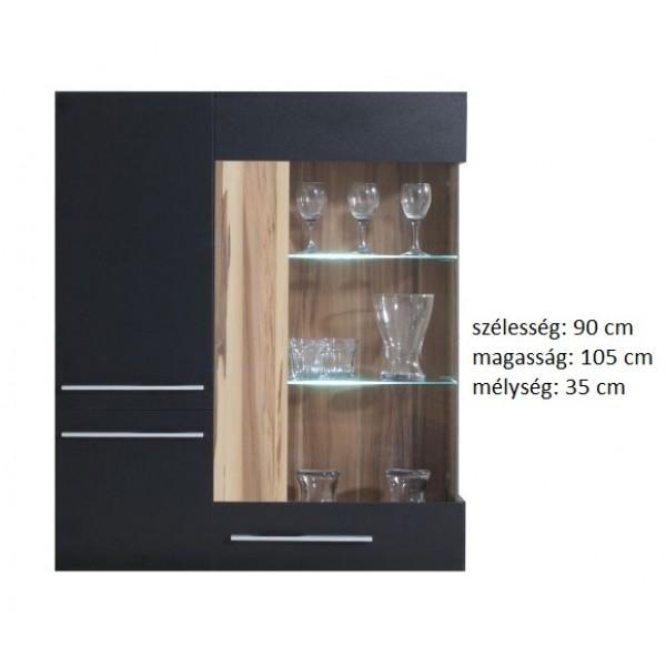 Morella MR9 - vitrines fali szekrény