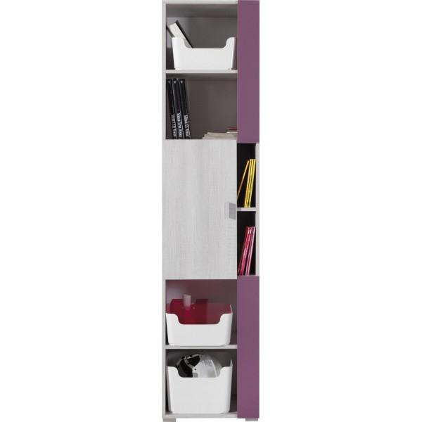 Nexi NX6 ifjúsági bútor - polcos szekrény