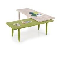 Biborka zöld dohányzóasztal