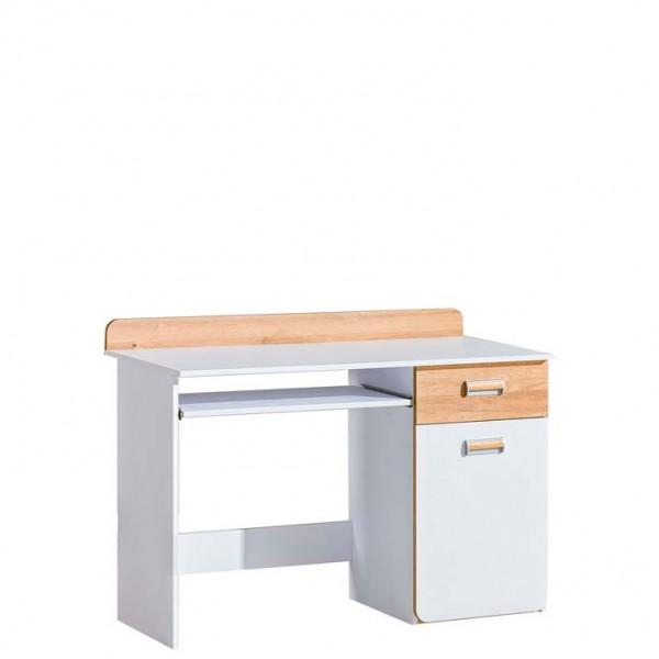 Ego 10 - íróasztal (fehér-nash tölgy)