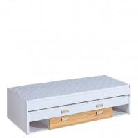Ego 16 - dupla ágy (fehér-nash tölgy)