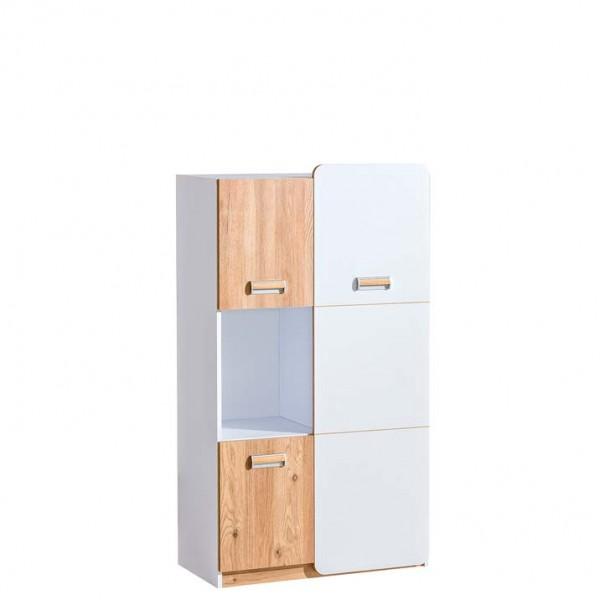 Ego 5 - szekrény (fehér-nash tölgy)