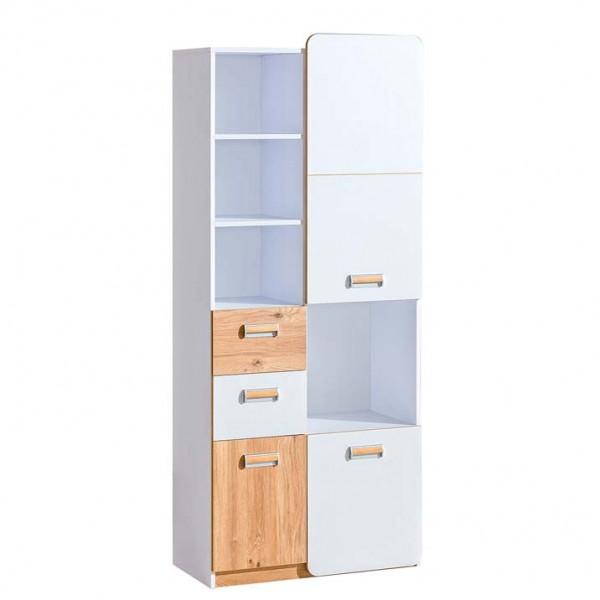 Ego 7 - szekrény (fehér-nash tölgy)