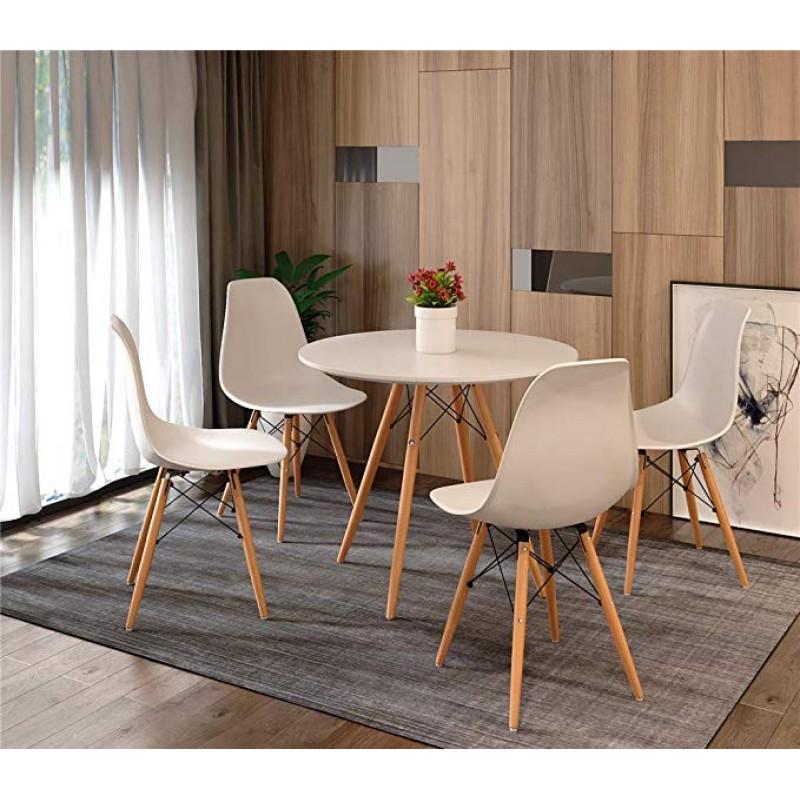 Eiffel stílusú étkező 4 székkel