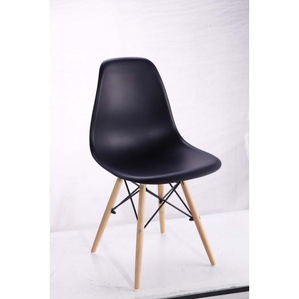 Eiffel stílusú szék, étkezőszék (fekete)