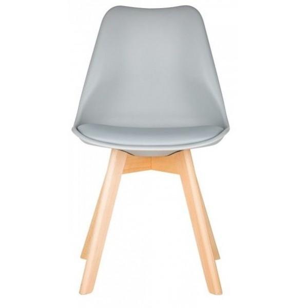Svéd stílusú szék, étkezőszék (szürke)