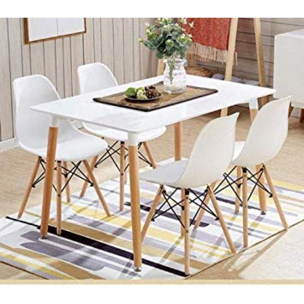 Svéd stílusú étkező 4 székkel