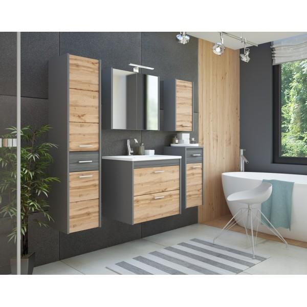 Istria modern fürdőszoba bútor (elemenként is)