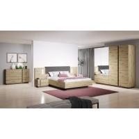 City elemes hálószoba bútor (1)