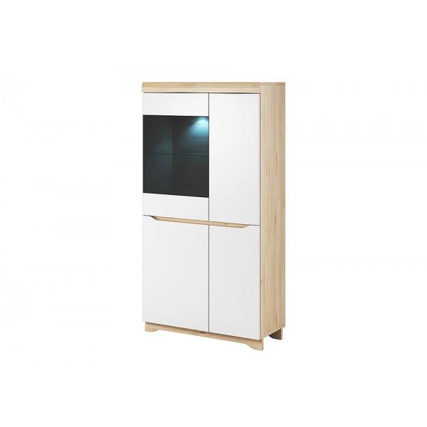 ARVEN A02 alacsony vitrines szekrény