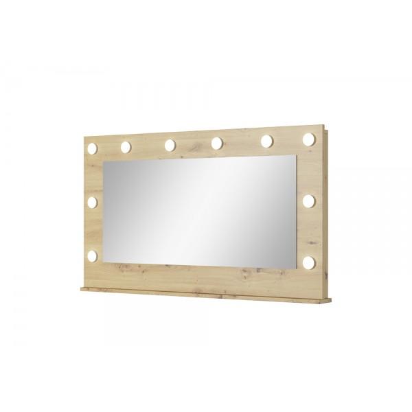 Pint G tükör LED világítással