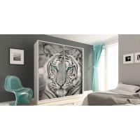 Tigris beépített szekrény